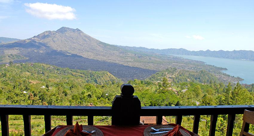 バリ島の素朴な田舎の景色