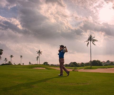 リゾートエリア・ヌサドゥアにあるゴルフ場