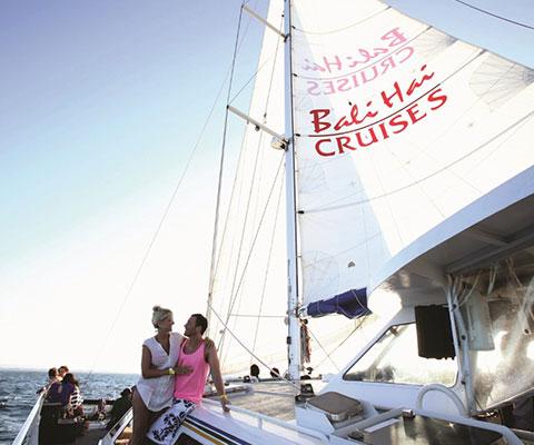 バリ島からレンボンガン島までの美しい海の景色を満喫