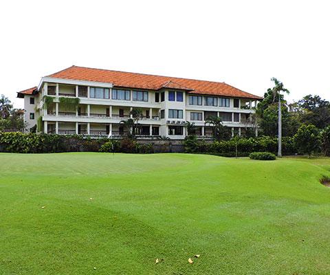 リゾートホテル内にあるゴルフ場