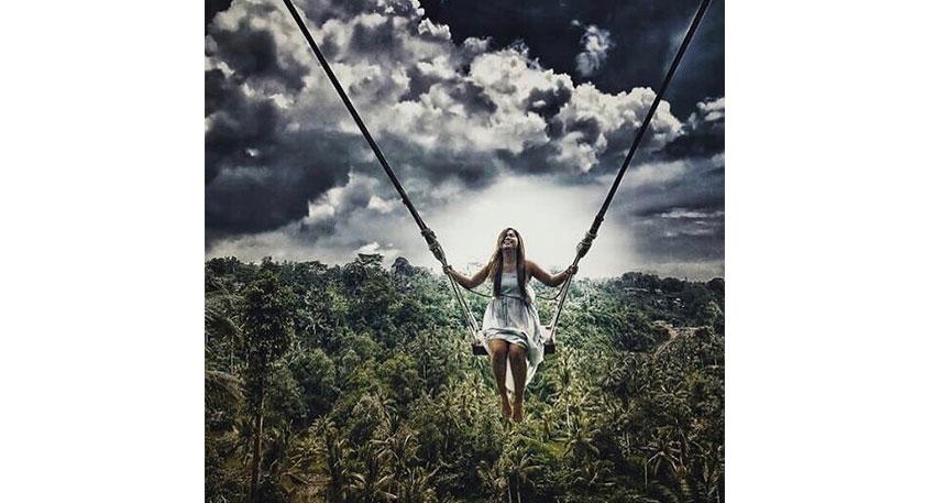 まるでジャングルの中に飛び込むような感覚