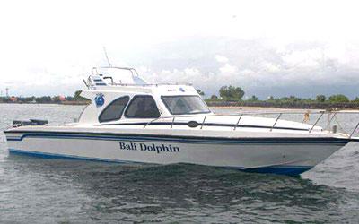 至福のバリ島観光 厳選マリンスポーツ 20人乗りボート 画像