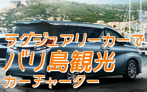 至福のバリ島観光 厳選 カーチャーター トヨタ アルファード 特徴