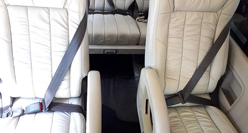 座席空間もしっかりとあり乗り心地も極上