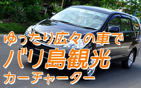 至福のバリ島観光 厳選カーチャーター トヨタ イノヴァV 特徴