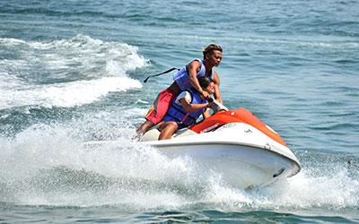 至福のバリ島観光 厳選マリンスポーツ ジェットスキー 画像