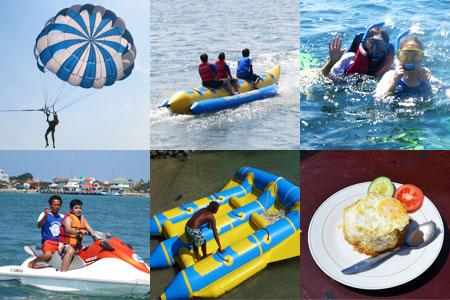 至福のバリ島観光 厳選マリンスポーツ 5種類B 画像