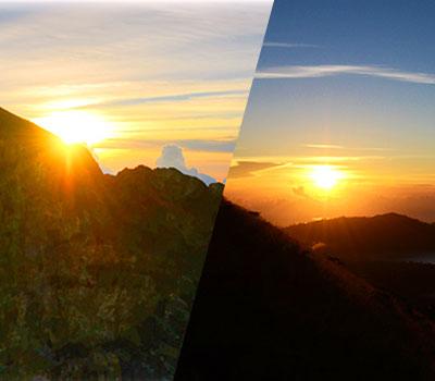 至福のバリ島観光 厳選マリンスポーツ トレッキング 画像