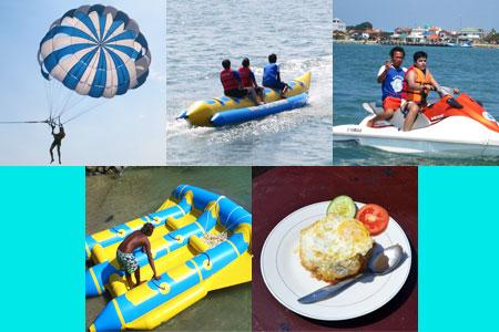 至福のバリ島観光 厳選マリンスポーツ マリン4種パックC 画像