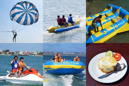 至福のバリ島観光 厳選マリンスポーツ 5種類A 画像