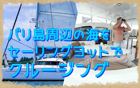 至福のバリ島観光 厳選ボートチャーター Jemme クルーズ 特徴