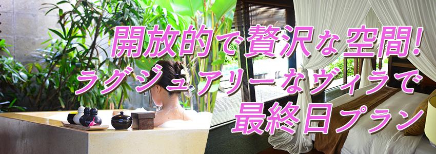 至福のバリ島観光 厳選 カユマニス ジンバラン 最終日プラン 特徴