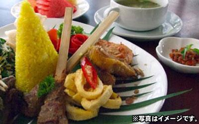 至福のバリ島観光 厳選オプショナルツアー レゴンディナー(インドネシア料理) スタンダード 画像
