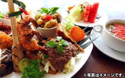 至福のバリ島観光 厳選オプショナルツアー レゴンディナー(インドネシア料理) デラックス 画像