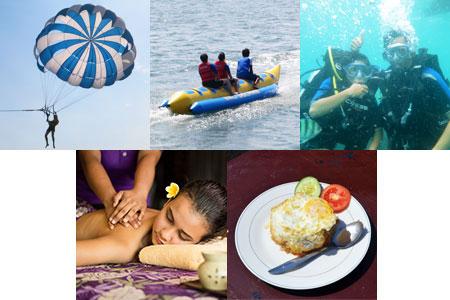 至福のバリ島観光 厳選マリンスポーツ マリンパックC 画像