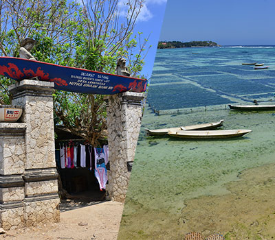 至福のバリ島観光 厳選レンボンガン島 ヴィレッジツアー 画像