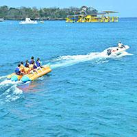 バリ島 バナナボート