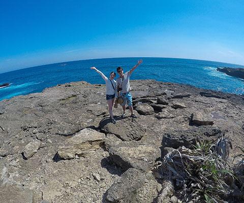 バリ島からもすぐの離島でシュノーケリング