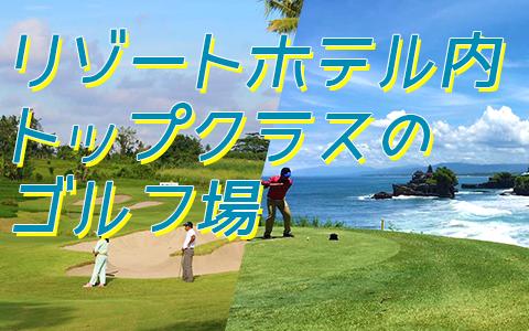 至福のバリ島観光 厳選 ニルワナ ゴルフ クラブ 特徴
