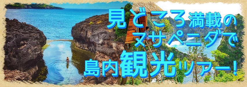 至福のバリ島観光 厳選レンボンガン島 ヌサペニダアイランドツアー 特徴