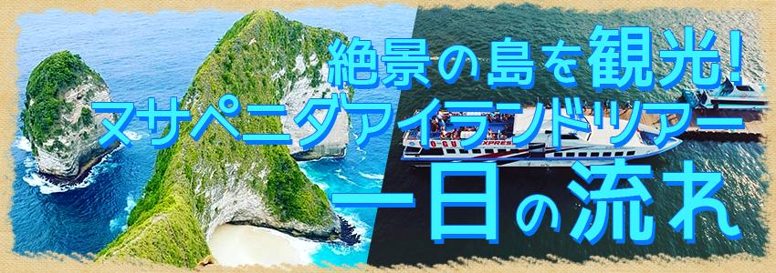 至福のバリ島観光 厳選レンボンガン島 ヌサペニダアイランドツアー 一日の流れ