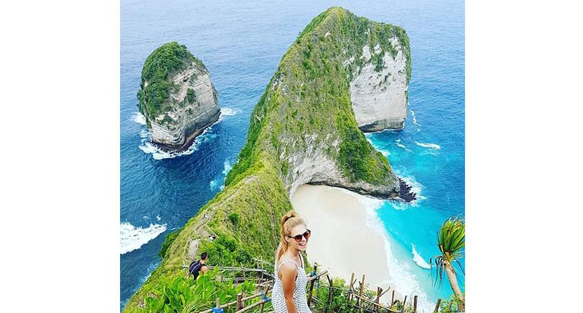 手つかずの自然が残る島ヌサペニダ