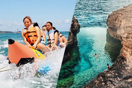 至福のバリ島観光 厳選レンボンガン島 アイランドツアー+バナナボート 画像