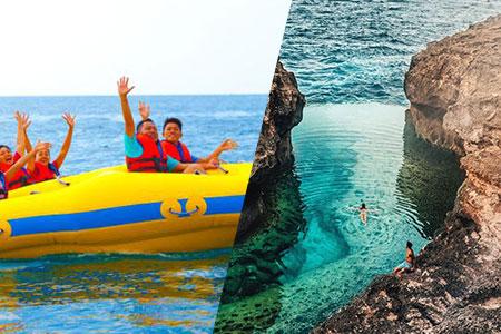 至福のバリ島観光 厳選レンボンガン島 アイランドツアー+ドーナツチューブ 画像