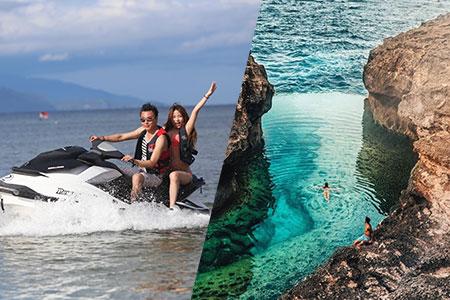 至福のバリ島観光 厳選レンボンガン島 アイランドツアー+ジェットスキー 画像