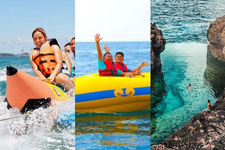 至福のバリ島観光 厳選レンボンガン島 アイランドツアー+バナナ+ドーナツ 画像