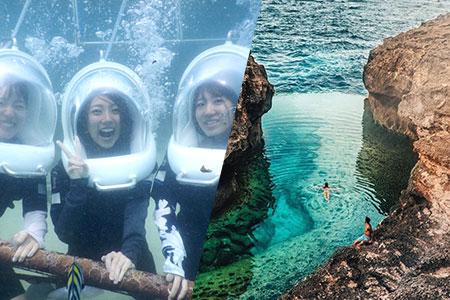 至福のバリ島観光 厳選レンボンガン島 アイランドツアー+シーウォーカー 画像