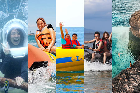 至福のバリ島観光 厳選レンボンガン島 アイランドツアー+シーウォーカー+マリンスポーツ3種類 画像
