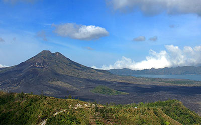 至福のバリ島観光 厳選オプショナルツアー キンタマーニ 画像