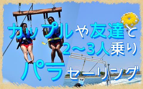 至福のバリ島観光 厳選マリンスポーツ カップルで大空へ!アドベンチャーパラセーリング 特徴