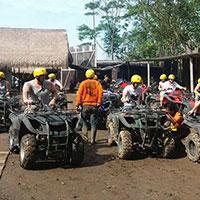 バリ島 Pertiwi Quad Adventure ATVライド 到着・準備