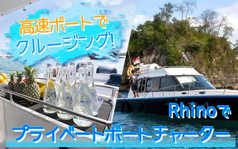 至福のバリ島観光 厳選ボートチャーター Rhino クルーズ