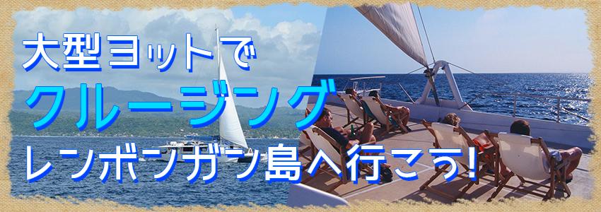 至福のバリ島観光 厳選クルージング セイルセンセーション デイライトクルーズ 特徴