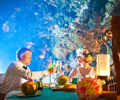 バリ島 1日1組限定の大人の為のディナー