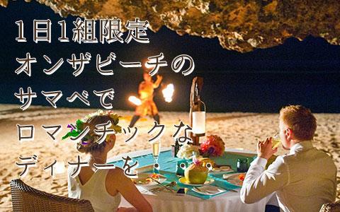 至福のバリ島観光 厳選オプショナルツアー パワーオブLOVE プライベートディナー
