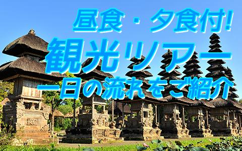 至福のバリ島観光 厳選オプショナルツアー バリの世界遺産 タマンアユンとライステラスツアー 一日の流れ
