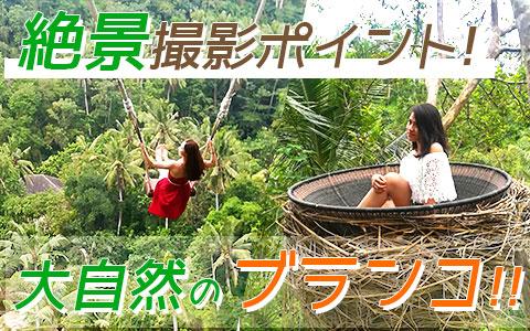 至福のバリ島観光 厳選アクティビティ Uma Pakel Bali Swing