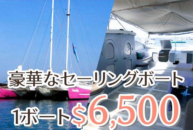 Aneecha Catamaran クルーズ